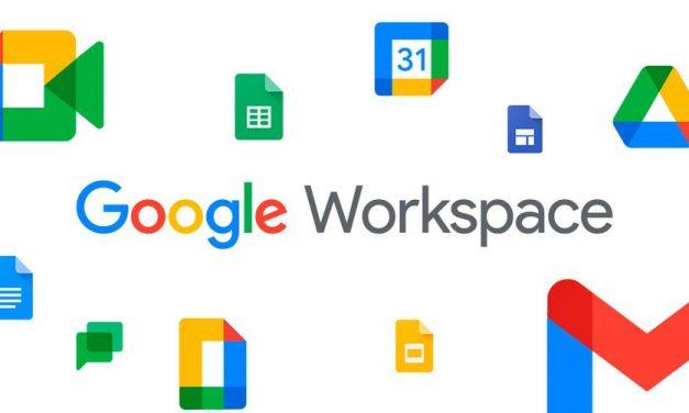 Google Workspace disponible para todos los alumnos
